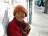 Smiling Nun at Drepung Monastery