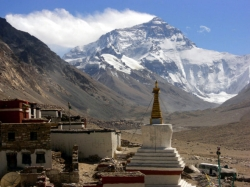 Rongbuk Monastery at Everest
