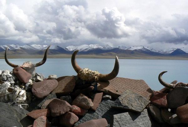Namtso Lake in Lhasa