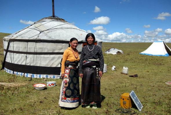 Qinghai Tibetan Mongolian Nomads
