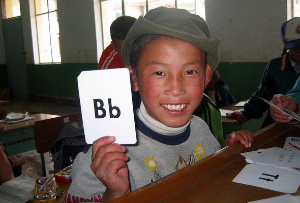 Volunteering in Tibet