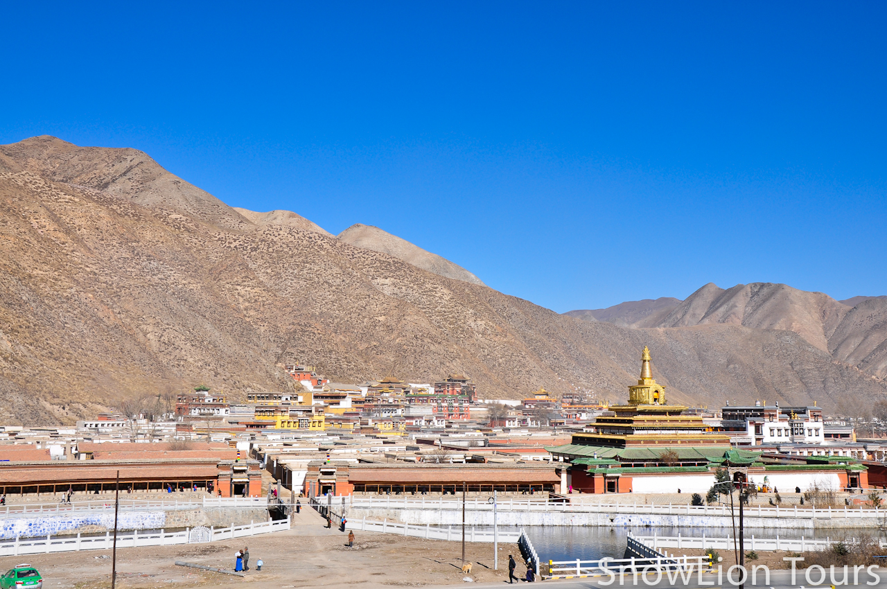 Labrang Monastery Gongtang Stupa