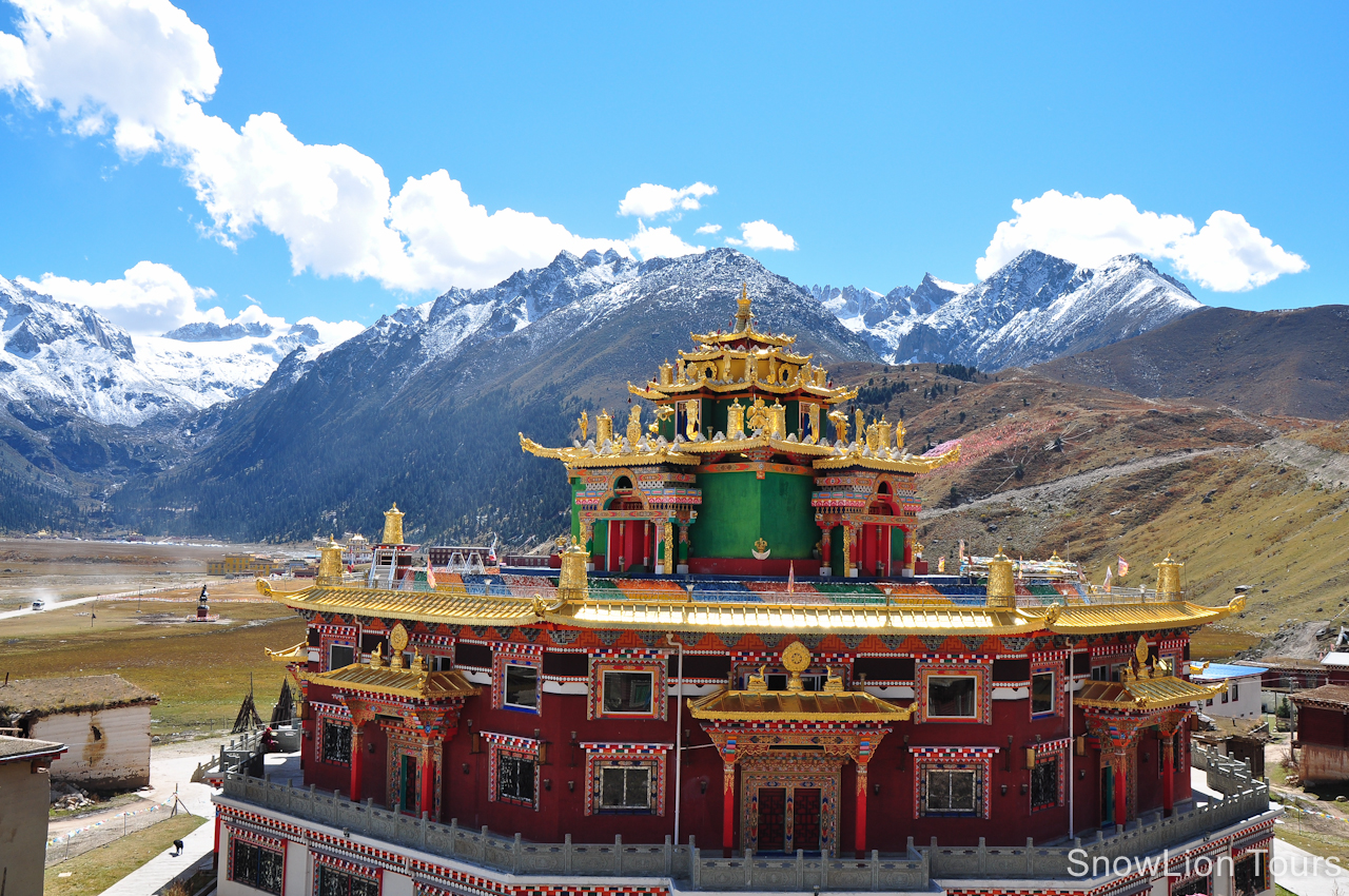 Tibetan monastery | Monk Constructs | Pinterest