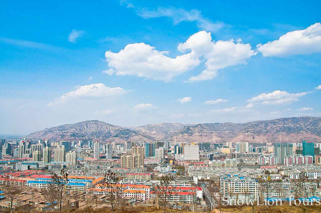 Xining, the capital icy of Qinghai province | Tibet Insider